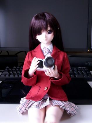 由綺ちゃんとカメラ
