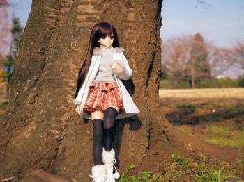 ある日の公園と由綺ちゃん